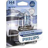Philips WhiteVision ultra H4 lampe pour éclairage avant, 4.200K, blister de 1