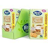 Hero Baby - Papilla de 8 Cereales con Galleta sin Azúcares Añadidos, para Bebés a Partir de los 6 Meses - Pack de 3 x 820 g