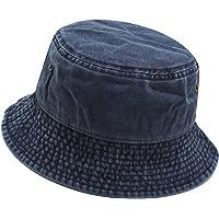 Umeepar, cappello da sole unisex, 100% cotone, stile retrò, ripiegabile, per uomo e donna
