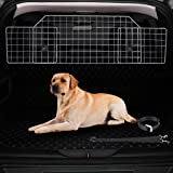 CO-Z Dog Barrier for SUVs, Cars and Vehicles, Smooth Designed Wire Mesh Pet Barrier, Heavy-Duty Adjustable Dog Car Guard, Saf