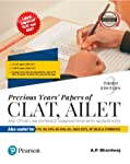 Previous Years' Papers of CLAT, AILET and Other Law Entrance Examinations: With Answer Keys