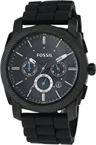 Fossil Orologio Cronografo Quarzo Uomo con Cinturino in Silicone FS4487