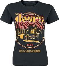 The Doors Warp Girl-Shirt schwarz
