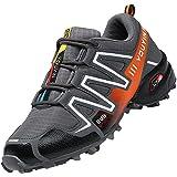 Csgkag Scarpe da Trail Running Uomo Scarpe da Trekking Corsa Scarpe da Ginnastica Outdoor Fitness Respirabile Leggero Tennis