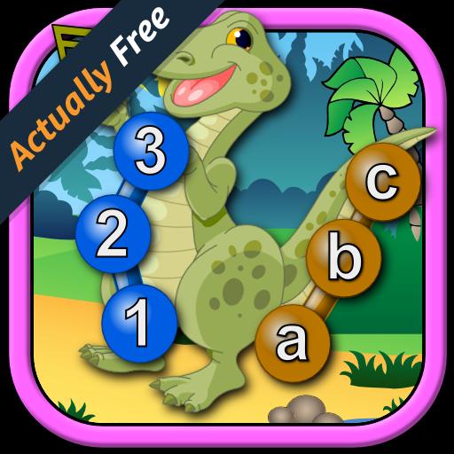 bambini-dinosauro-iscriviti-e-collegare-i-puntini-puzzle-rex-insegna-le-forme-di-numeri-di-abc-e-con