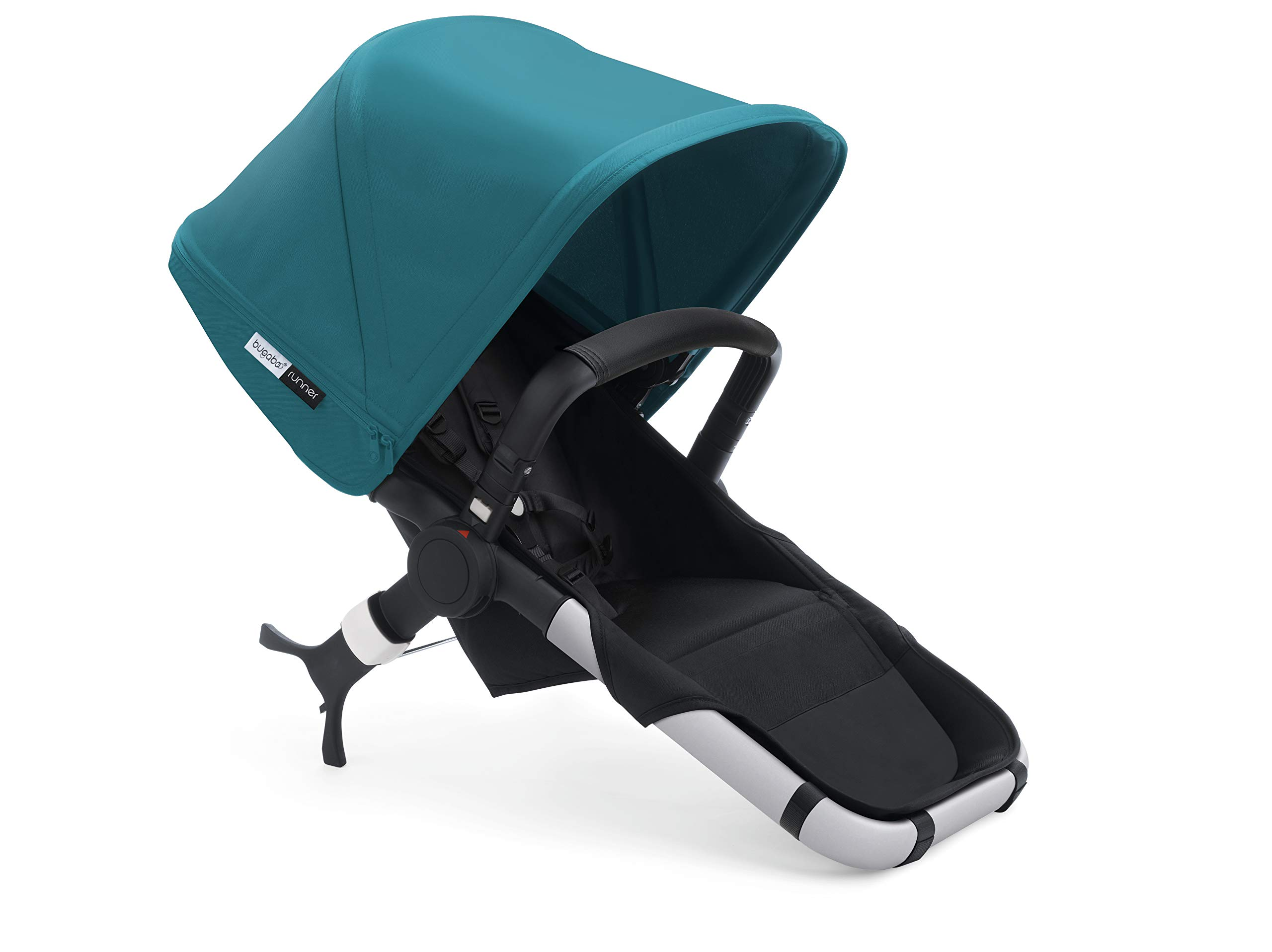 Bugaboo Runner Complete Pushchair, Black/Petrol Blue Bugaboo  6