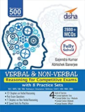 Verbal & Non-Verbal Reasoning for Competitive Exams - SSC/Banking/Rlwys/Insurance/MBA/BBA/CLAT/AFCAT