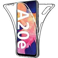HUANGTAOLI Cover per Samsung Galaxy A20e, Custodia 360 Gradi Protezione Progettata Trasparente Ultra Sottile in Silicone…
