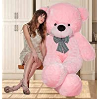 OSJS Toys Soft Loveble/Huggable Teddy Teddy Bear 4 Feet - Pink(122cm)