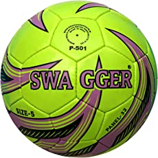 Swagger P-501 PU Football, Size 5 (Green)