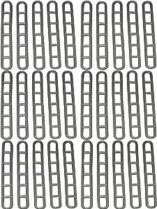 per roulotte Set di 10 cinghie in gomma per tenda BitS4Reasons