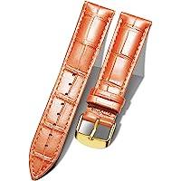 BINLUN Cinturino per Orologio in Vera Pelle di Vitello di Ricambio Cinturini Orologi a sgancio rapido Uomo Donna 10…