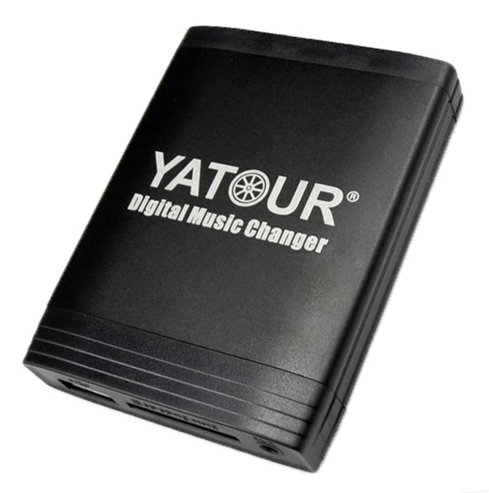 YATOUR adattatore interfaccia USB AUX per OPEL SD