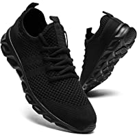 Mens Running Shoes Trainers Walking Tennis Sport Shoes Ligthweight Gym Fitness Jogging Casual Shoes Fashion Sneakers for…