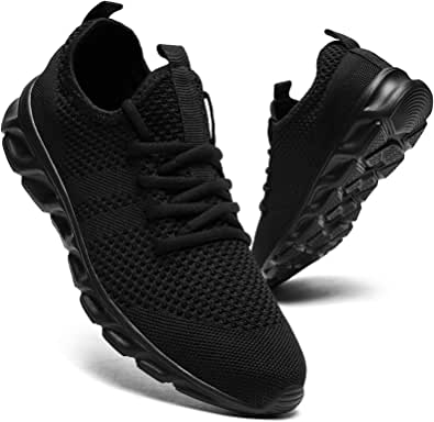 Mens Running Shoes Trainers Walking Tennis Sport Shoes Ligthweight Gym Fitness Jogging Casual Shoes Fashion Sneakers for Men