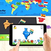 Imagimake Mapology World AR - Augmented Reality Educational Toy and Interactive Learning Aid for Boys and Girls - STEAM…