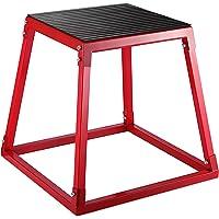 VEVOR Jump Box Pliometrico da 24 Pollici in Materiale Acciaio, Plyo Jump Box Larghezza Base 21 5/8 Pollici, Esercizio…