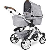 ABC Design Kinderwagen Salsa 4 – Kombi-Wagen für Neugeborene & Babys bis 22kg – Inkl. Sportsitz & Tragewanne – Kleines…