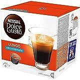 Nescafé Dolce Gusto LUNGO DECAFFEINATO - Café - Pack de 16 -112g