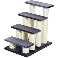 Pawhut® Tiertreppe Katzentreppe Hundetreppe Treppe für Katze und Hunde 4 Stufen (Modell 1)