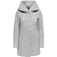 Only Onlnewsedona Wool Coat CC Otw Cappotto di Misto Lana Donna