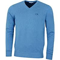 Calvin Klein Golf Mens 2021 V-Neck Tour Durable Comfort Sweater