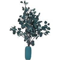 LUOWAN Fiori Secchi di Eucalipto Fiori Eucalipto veri Bouquet di fiori secchi di Eucalipto da 55 a 58 cm, di Eucalipto…