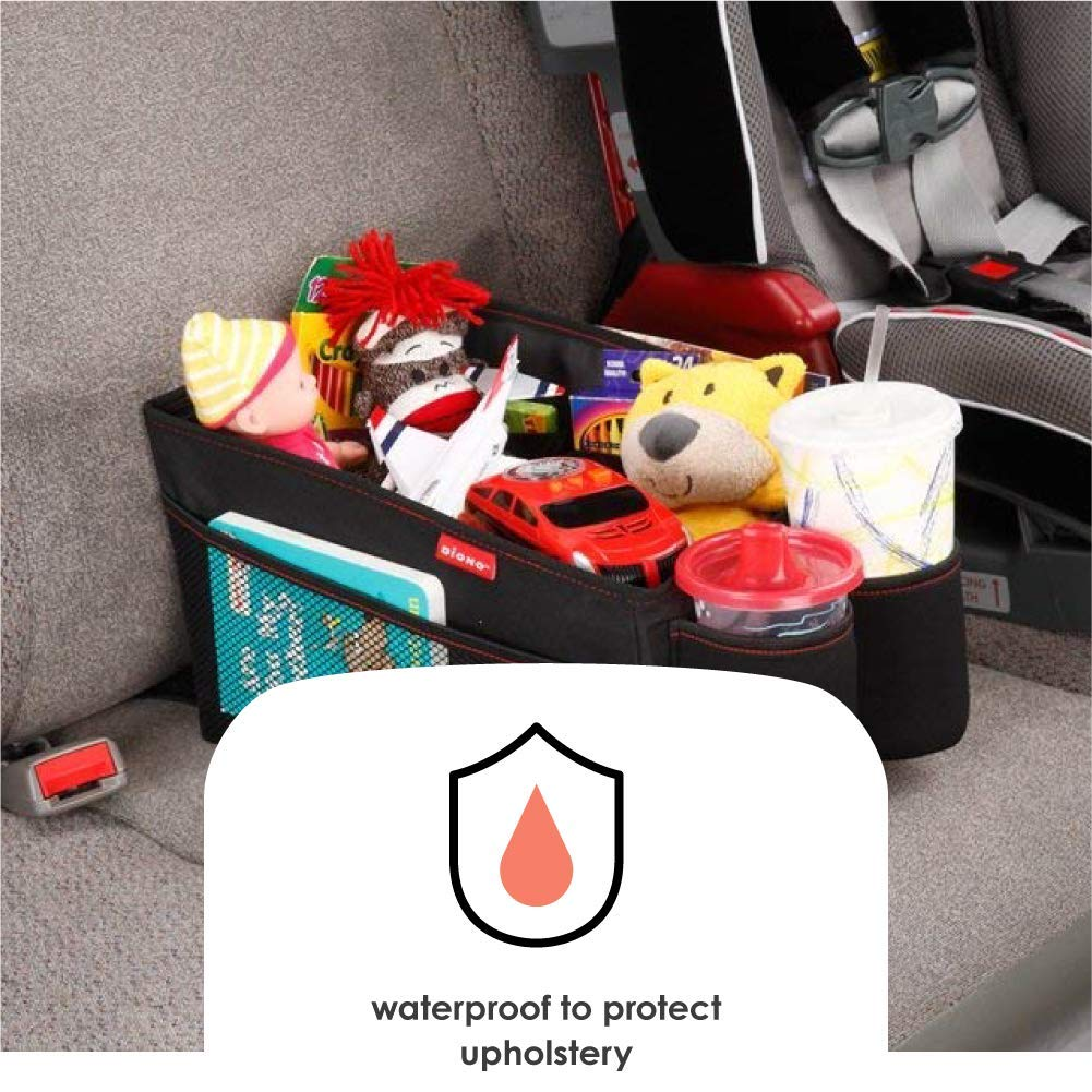 Diono Travel Pal Car Storage Black 40305 Features a Deep Storage Bin for Toys and Large Items