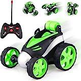 Baztoy Afstandsbediening Auto, Kinderspeelgoed 3 4 5 6 7 8 Jaar RC Car met 360 ° Rotatie Mini Stunt Auto Raceauto Voertuigen