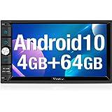 ATOTO S8 Premium S8G2103M,Android Armaturenbrett eingebauten Video /& Navigation 2X BT mit aptX,Telefonintegrationsverbindung,VSV-Parken,Unterst/ützung von 512GB SD,Schnellladung 10in QLED-Anzeige