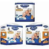 Liberty Premium Adult Diaper Pants Unisex, Medium 3x10 Pcs, Waist Size (61-115 cm | 24-45 Inches) (Pack of 3)