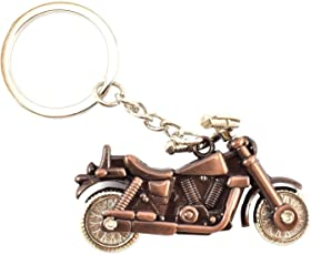 VB Retail Royal Bullet Bike Keychains Keyrings - Bronze