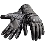 Hand Fellow Premium Leather Motorbike Motorcycle Gloves Touch Screen Gloves with Knuckle Protection Racing gloves Riding Glov