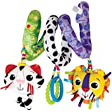 Lamaze Baby Spielzeug Activity Spirale mehrfarbig |  Hochwertiges Kleinkindspielzeug zur Förderung der Motorik |  Ideal für Kinderwagen, Kinderbett & Maxi Cosi |  ab 0 Monate