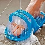 SUKHNIDHI Waterproof Easy Feet Cleaner Shower Slipper Easy Bath Brush/Easy Feet Foot Cleaner/Shower Foot Cleaner for All Age