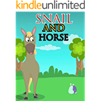 Snail and Horse   English stories for kids: Moral story books for children