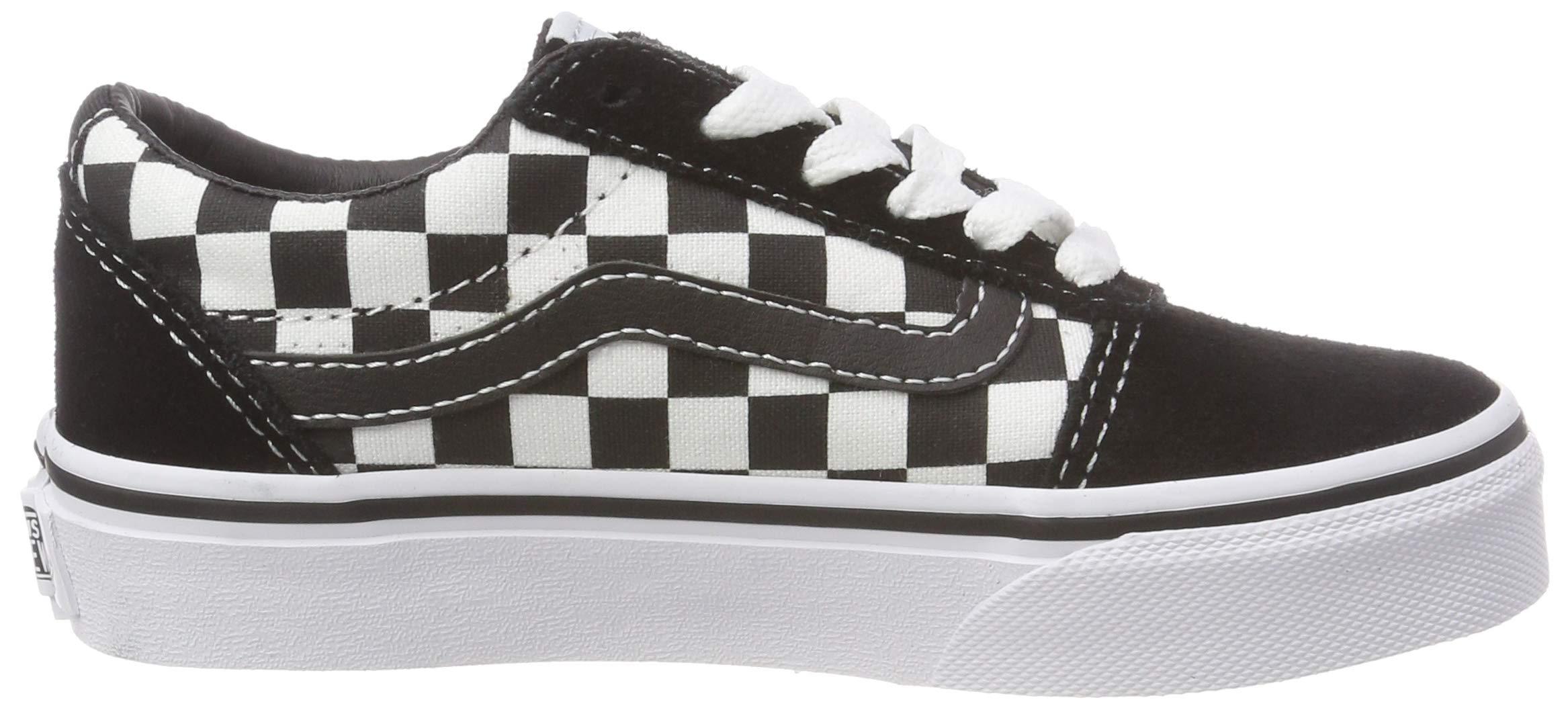 24ba70b219e150 Vans Kids  Ward Suede Canvas Low-Top Sneakers – Shoes Just Shoes UK