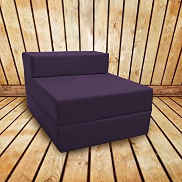 Contemporary Foam Chair Bed Single Fold Out On Design