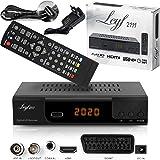 Kabelontvanger voor digitale kabeltelevisie - DVB-C (HDTV, DVB-C / C2, DVB-T/T2, HDMI, SCART, USB 2.0,) + HDMI-kabel (ontvang