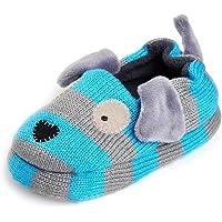 KVbaby Pantofole A Casa per Bambini Peluche Antiscivolo Scarpe Indoor delle Pantofole di Inverno dei Ragazzi delle…