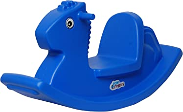 Intra Kids rideon for Kids Rocking Horse - high Quality (Colors May Vary)
