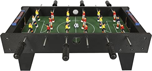 Rowan Indoor Football Table Game, 27 Inches Long with 6 Handles for Kids Above 3 Years