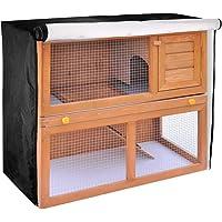 TUYU Rubbit Abdeckung für Kleintierstall, wasserdicht und staubdicht, Abdeckung für Käfige, Katzen, Hamster, Kätzchen…