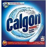 Calgon Poudre Anticalcaire Nettoyant Lave-Linge 3en1, 60 Lavages, 1,5kg