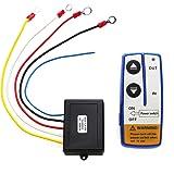 Fjärrkontroll nyckel, YOUTT00 12 V elektrisk vinsch trådlös fjärrkontroll systemomkopplare för lastbil Jeep ATV SUV