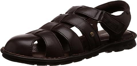 Hush Puppies Men's Rebound Leather Flip Flops Thong Sandals