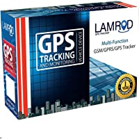 LAMROD Supreme Car/Bike Google Link GT02A GPS Tracker with Lifetime Free SMS Tracking