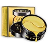 Under Eye Bags Mask 24K Gold Eye Treatment Masks Hyaluronic Acid Under Eye Patches Collagen Eye Pads for Moisturizing & Reduc