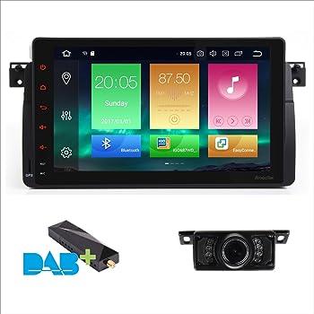 Android 8.0 Navegación GPS Octa-Core 9 pulgadas pantalla táctil capacitiva coche estéreo unidad de