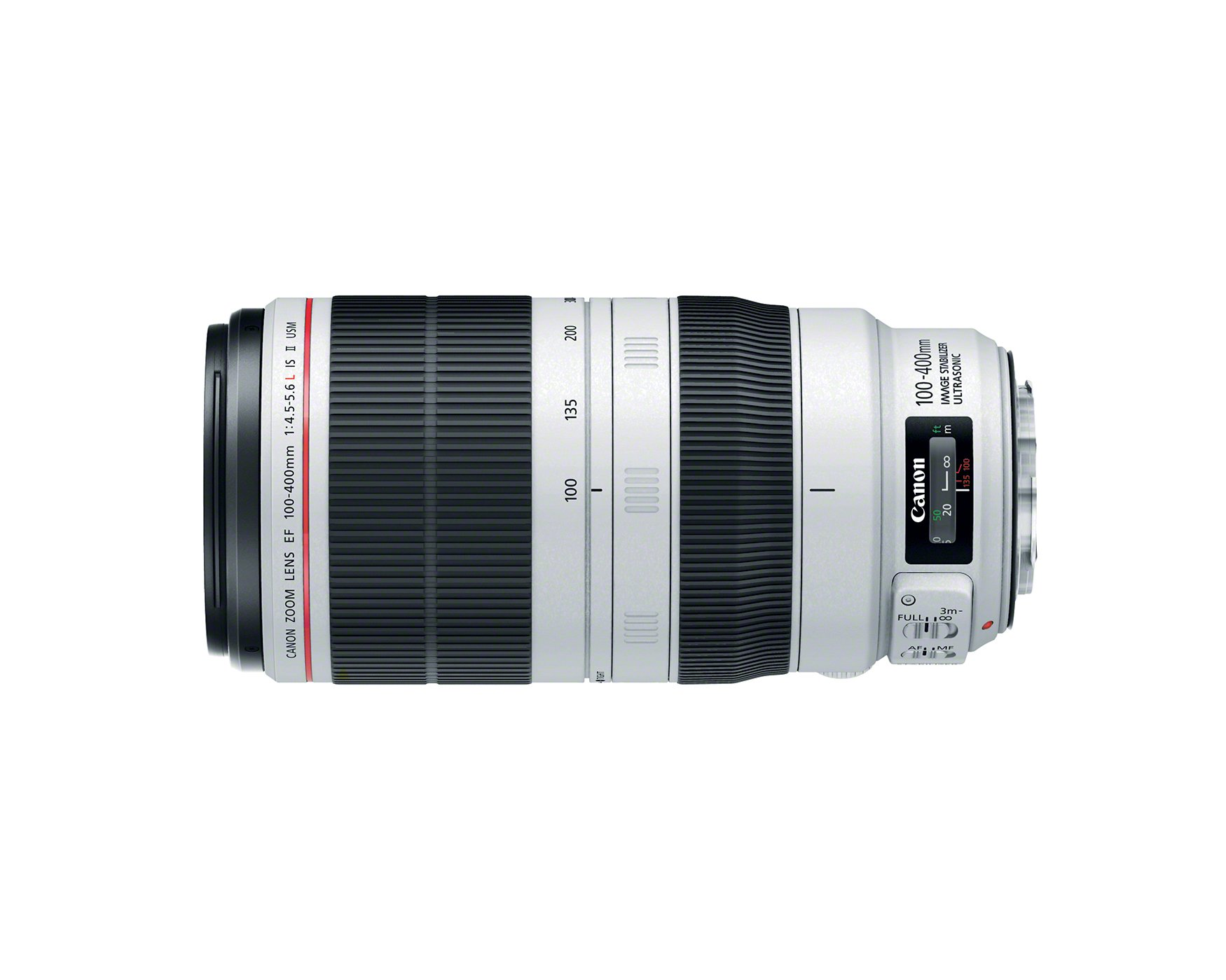 Canon EF 100-400mm f/4.5-5.6L IS II USM SLR Telephoto lens Black,White - camera lenses (SLR, Teleph